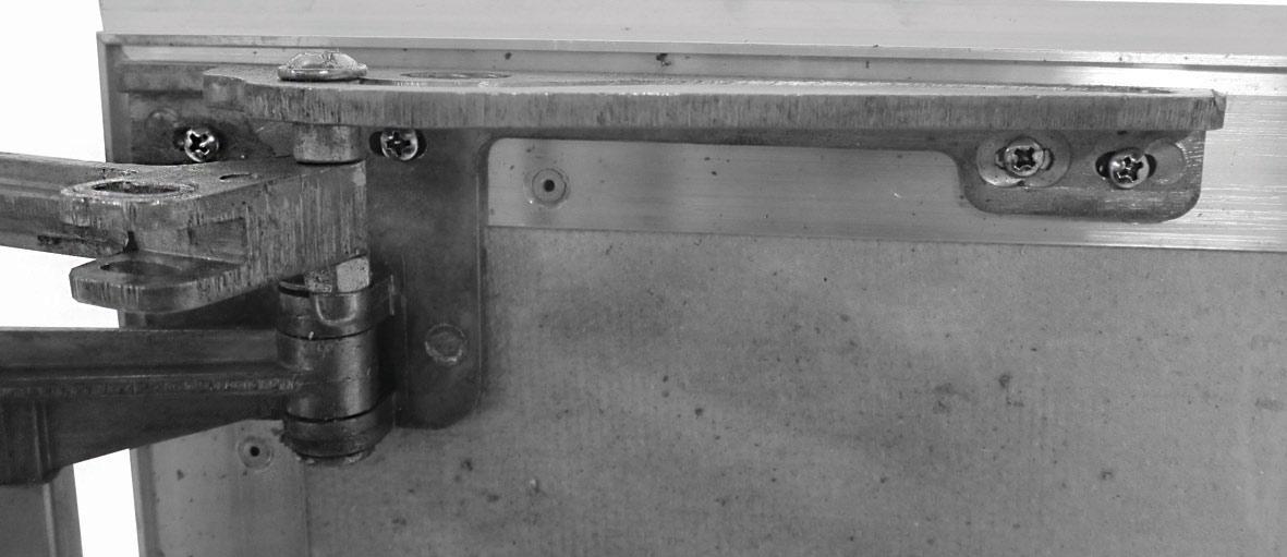 Литая петля люка Слава ПФ Хаммер. Регулировка петли производится согласно инструкции