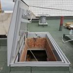 Противопожарный люк для выхода на крышу модель Небоскреб ПФ Хаммер