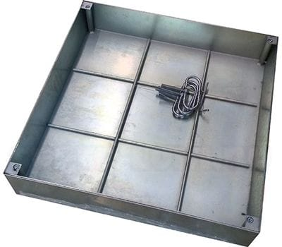 Напольный люк DRAGO под брусчатку 1000x1000