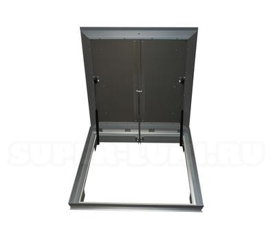 Лифт Revizor 800*800 люк напольный с амортизаторами и фиксаторами