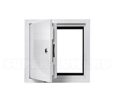 Противопожарный люк-дверь Revizor модель ШМЕЛЬ 500*500