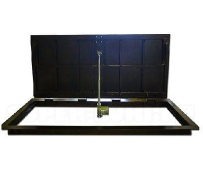 Напольный люк с электроприводом ПФ Шаркон, модель STELS 900*900