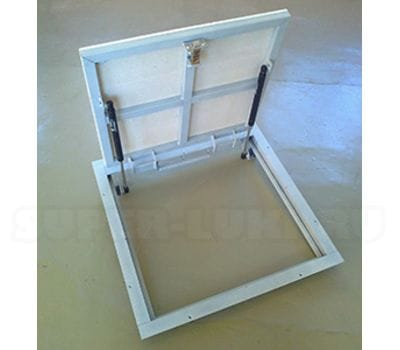 Напольный люк с амортизаторами ПФ Шаркон, модель STELS 800*800