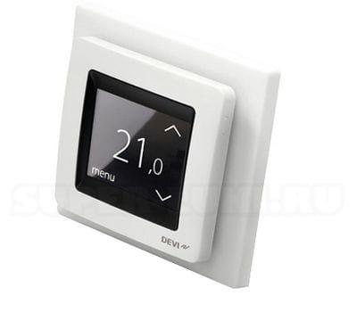 терморегулятор программируемый, терморегуляторы devi, терморегуляторы деви, программируемые терморегуляторы, Devireg Touch