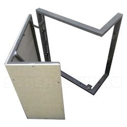 Угловые ИКС-ЛЮКИ под плитку стальные нажимные