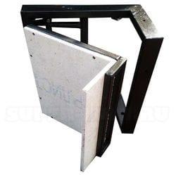 Угловые люки под плитку внутренний угол