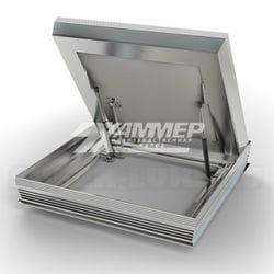 Напольный люк с амортизаторами ПФ Хаммер модель Премьер